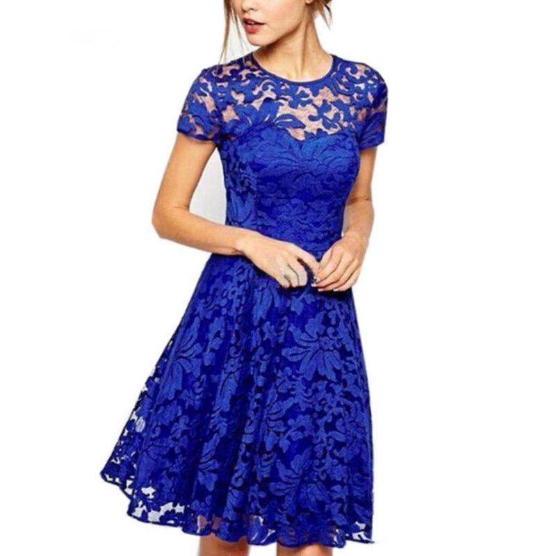 comprar 5XL más el vestido elegante de la manera de las mujeres ...