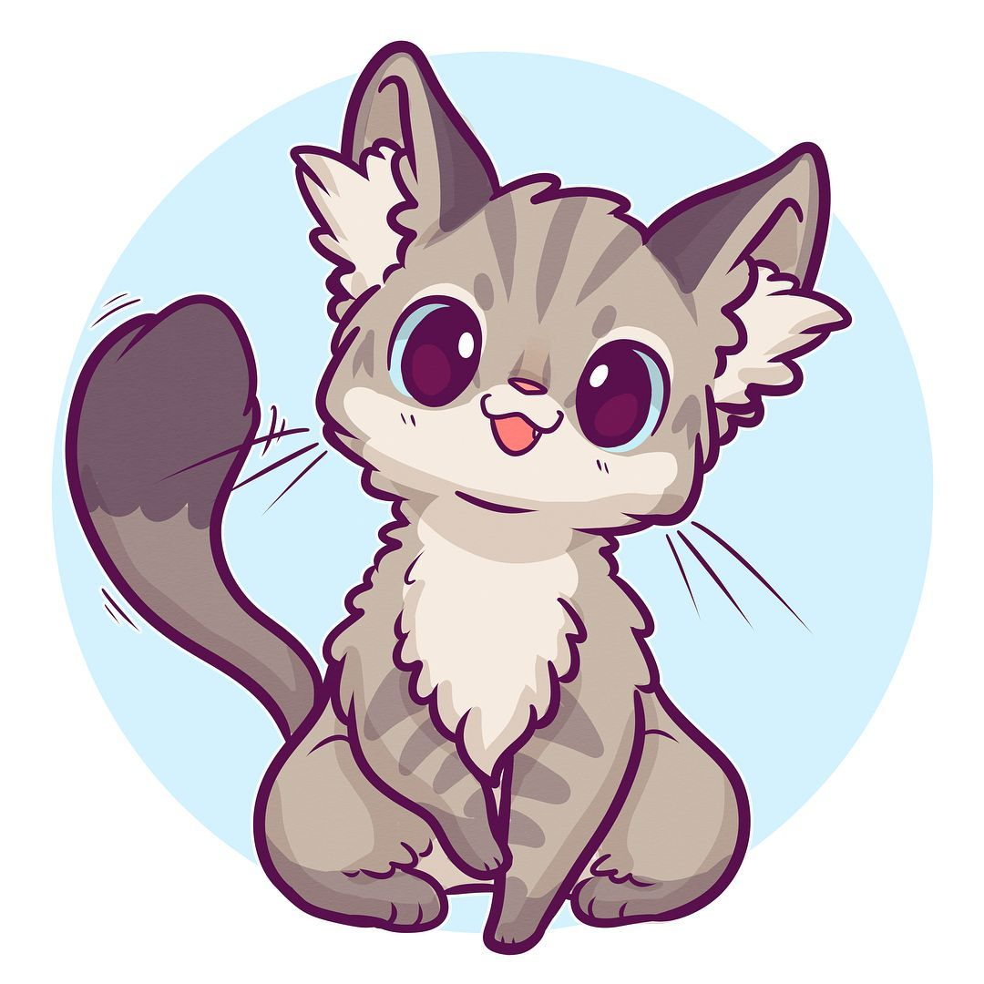 18++ Kawaii easy cute animal drawings ideas