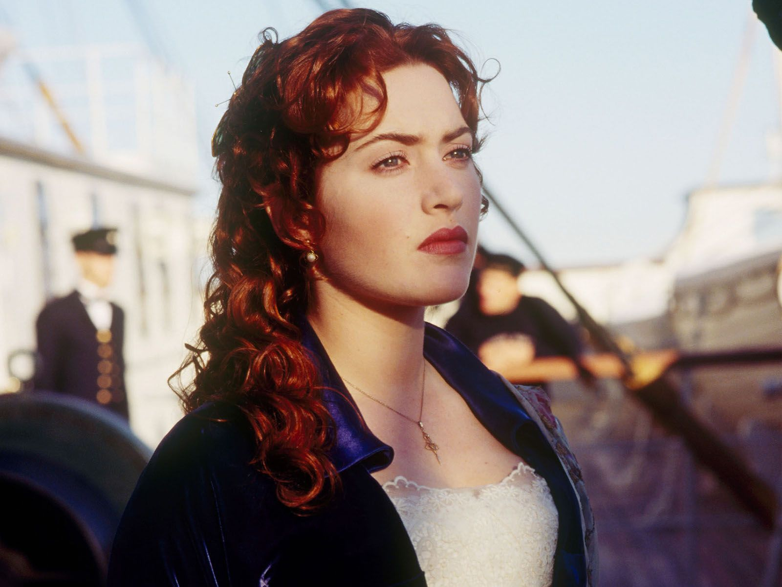 titanic kate winslet hair color