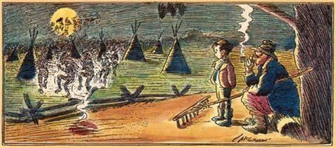 Injun Summer... This would appear in the paper every October.