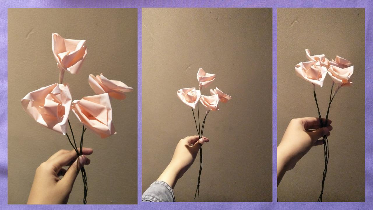 Pin oleh kelakon art di Cara Membuat Bunga Dari Plastik