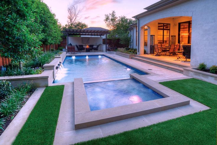 Swimming Pools Discover 27 Winning Ideas For Rectangular Designs