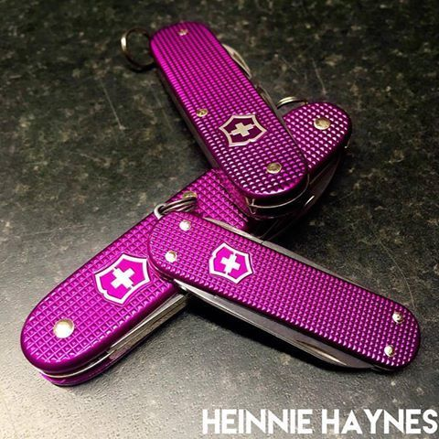 Victorinox Pioneer Classic Amp Cadet Alox Orchid Limited