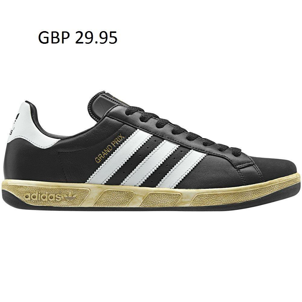 new styles 36639 b9d40 Adidas Originals Grand Prix Mens Trainers RRP £60 G62748