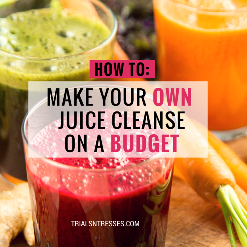 How to make your own juice cleanse on a budget cleanse juice and with juicing being so popular and so expensive here are some quick and easy tips on malvernweather