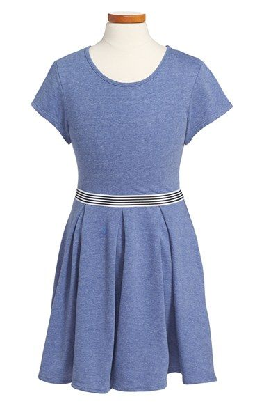 67b1d2464 Sally+Miller+Pleated+Skater+Dress+(Big+Girls)+available+at+#Nordstrom