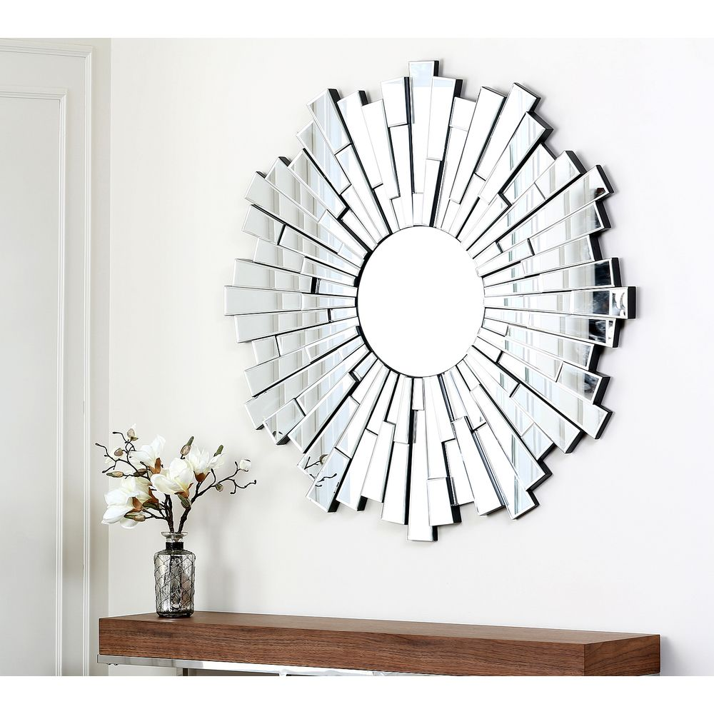 Abbyson living empire round wall mirror overstock shopping abbyson living empire round wall mirror overstock shopping the best deals on amipublicfo Choice Image