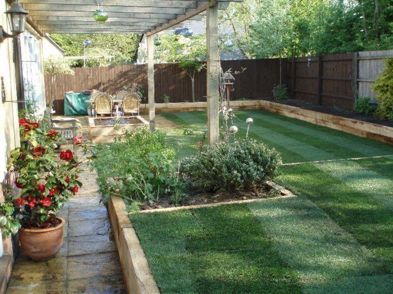 25+ Beautiful & Cozy Minimalist Backyard Landscaping ...