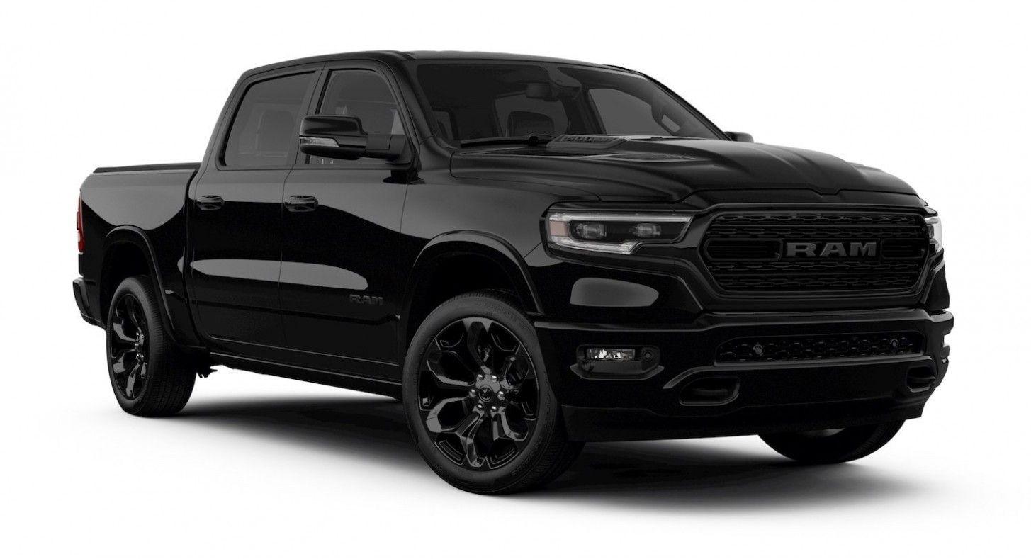 2020 Dodge Rampage Engine In 2020 Ram Trucks Ram 1500 Black Truck