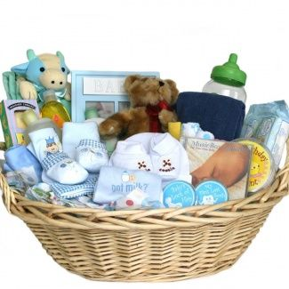 Baby boy shower outdorsy deluxe baby gift basket blue for boys baby boy shower outdorsy deluxe baby gift basket blue for boys great shower negle Gallery