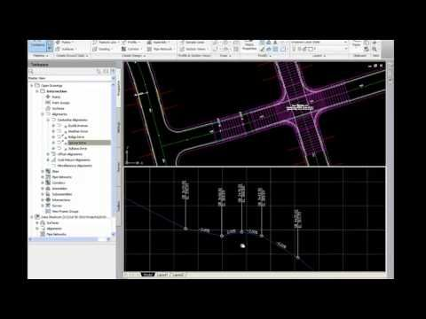 Civil 3d Intersection Design Tools Youtube With Images Tool