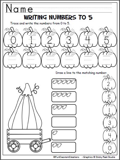 halloween counting worksheet 1 to 5 math kindergarten math preschool math kindergarten books. Black Bedroom Furniture Sets. Home Design Ideas