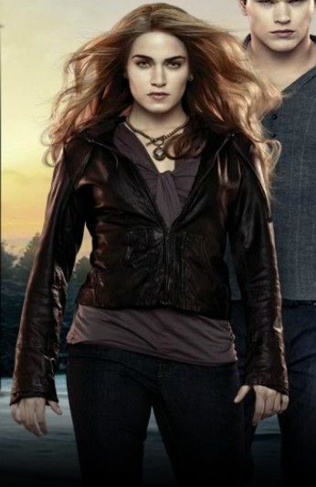 Rosalie Hale, Lucky Brand Leather Hooded Jacket, Twilight ...
