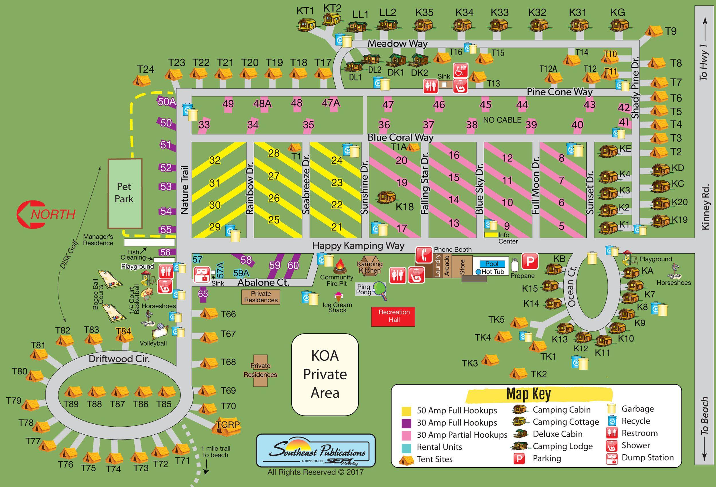 Campground Site Map Camping In Pennsylvania Koa Campgrounds Mendocino Camping