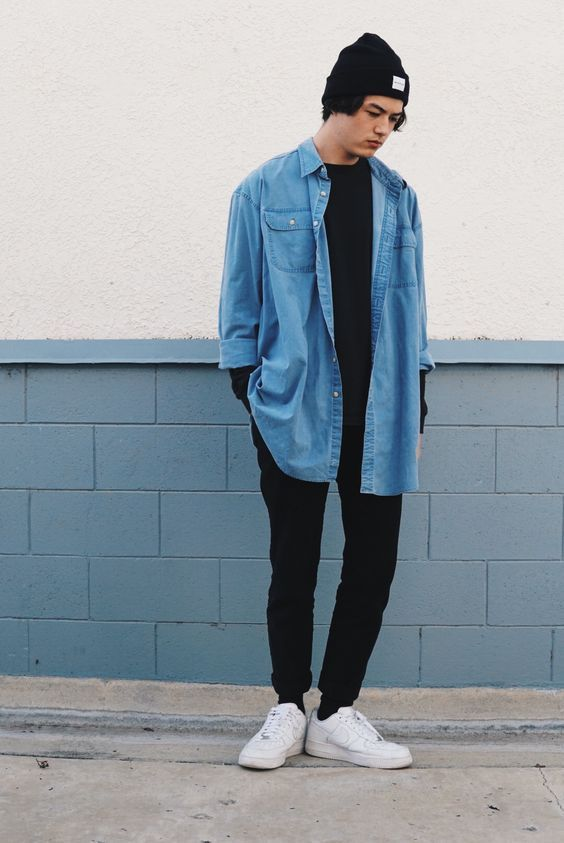 8019877694eda looks masculinos minimalista monocromatico - moda masculina - lucas  maronesi 19