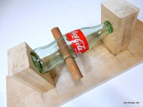 Come Forare Una Bottiglia Di Vetro.Come Forare Una Bottiglia Di Vetro Vetro Pinterest Cortando