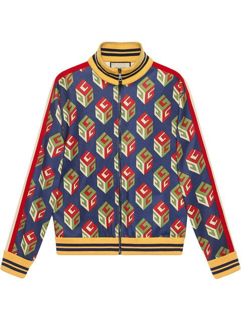0adc8f654a GUCCI GG Wallpaper technical jersey jacket. #gucci #cloth #wallpaper ...