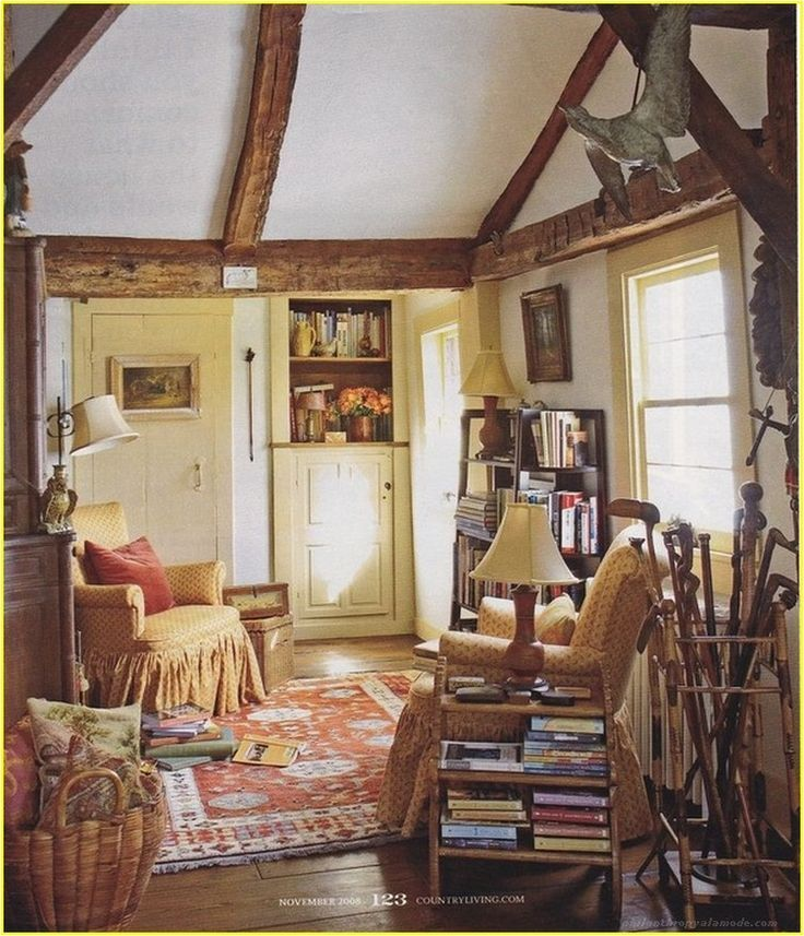 We Have 100 A Cozy Solution Ideas For Small Living Room Philanthropyalamode Com Popular Home Design In 2020 English Cottage Decor Cottage Living Rooms English Cottage Interiors #small #cabin #living #room