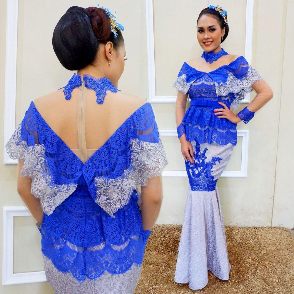 Kebaya Brokat Modern Rok Duyung Jacquard Minat Hubungi Wa