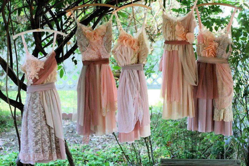 Country wedding bridesmaid dress ideas