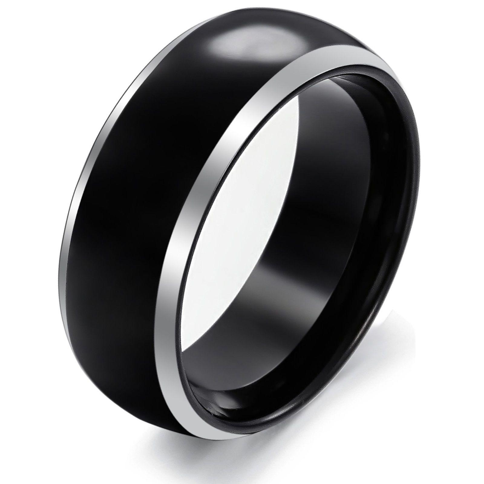 black mens ring - google-haku | sormus 2 | pinterest | ring and black