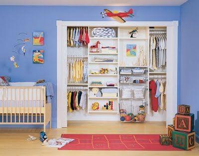 Nuestros bebes decoraci n closets para el cuarto del - Decoracion de habitacion de bebe ...