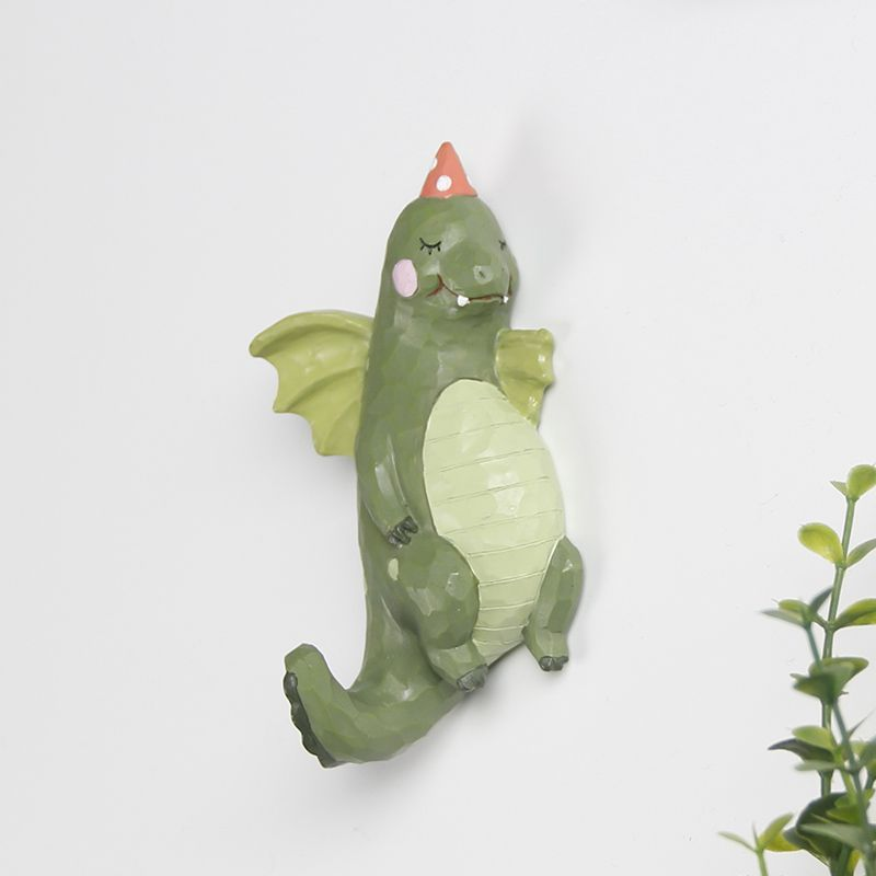 Funky Wall Hooks roogo 2017 new item unique cartoon dragon design funky wall hook