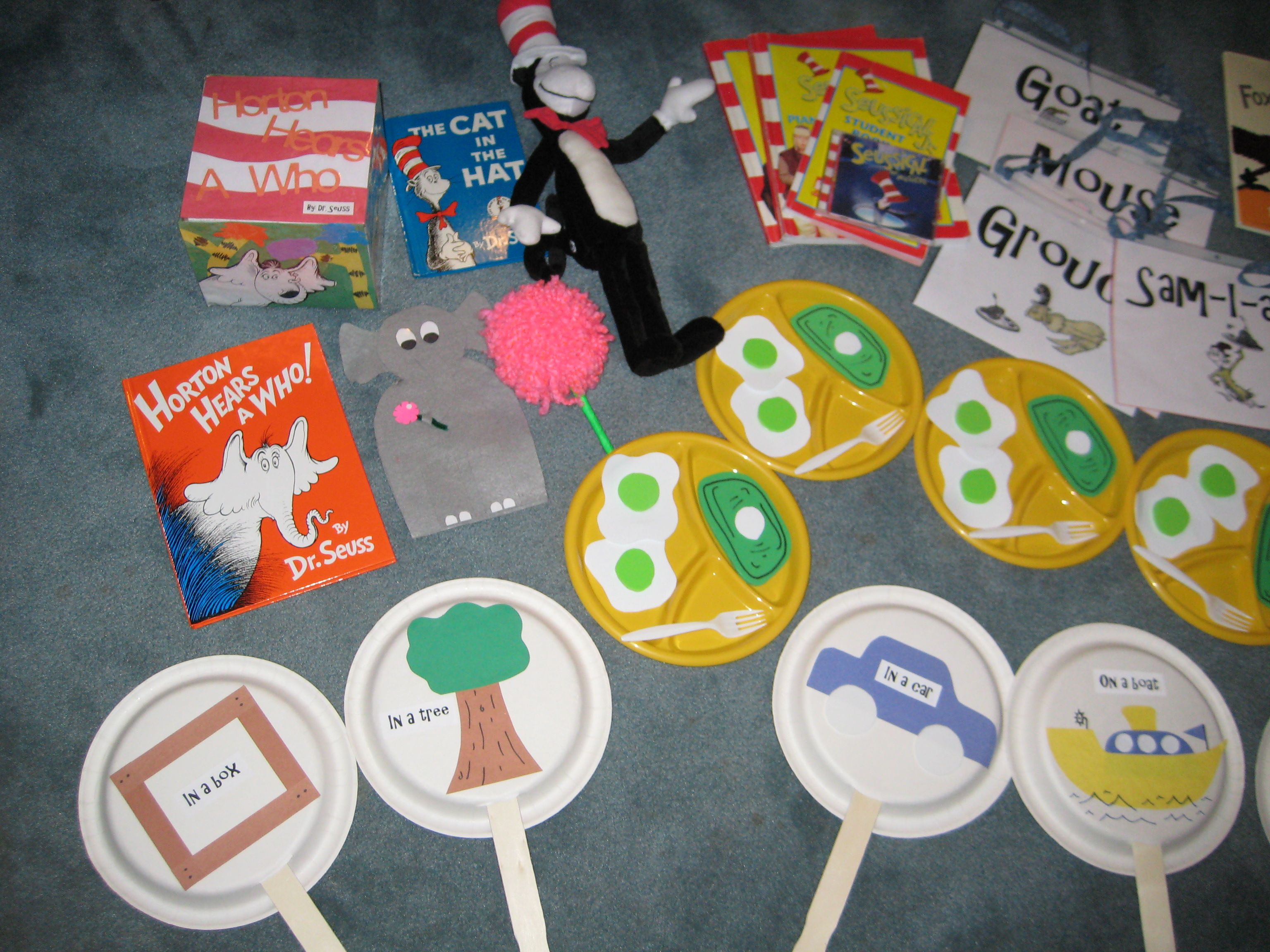 Dr Seuss Prop Box I Love The Green Eggs Amp Ham Plate