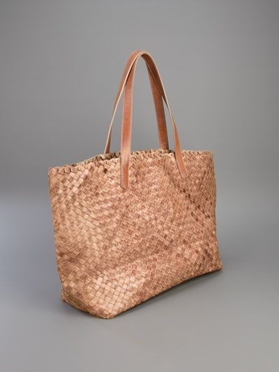 61ce294a81 Massimo Palomba plaited leather tote | B a g . | Bags, Reusable tote ...