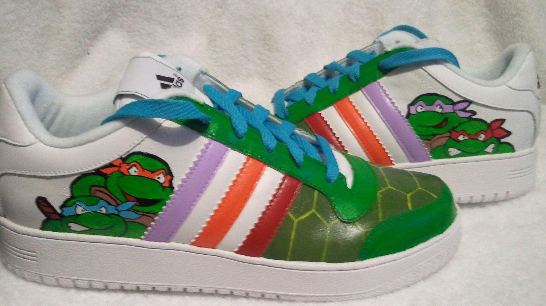 wholesale dealer df00a 10f1f Teenage Mutant Ninja Turtles custom Nike air force by Kivadeno,  170.00