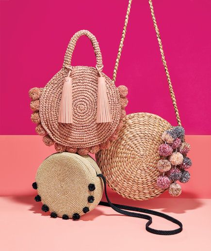 You're About to See These Under-$100 Straw Handbags Everywhere #bag