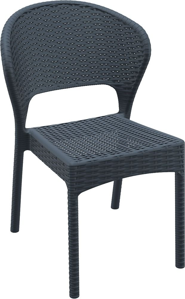 Siesta Daytona Chair - Commercial outdoor stacking chair. Glass ...