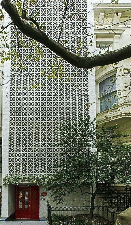 130 E. 64th Street designed by Edward Durrell Stone