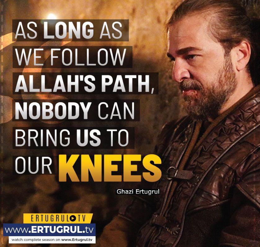 Ertugrul Urdu Quotes in 2020 | Words of wisdom quotes ...
