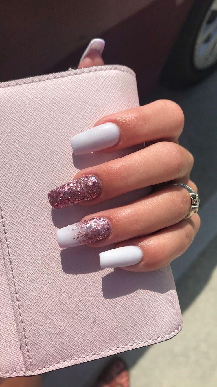 10 Elegant Rose Gold Nail Designs Ecemella Rose Gold Nails Design Gold Nail Designs Long Square Nails