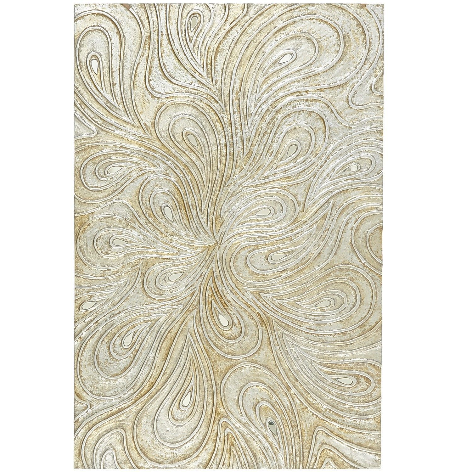 Silver Swirls Wall Panel For The Home I Have Pinterest