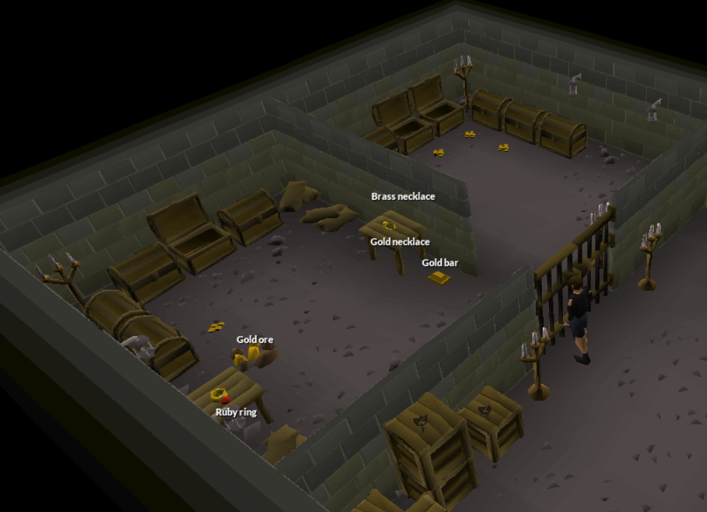 How to Claim the Ruby Ring in Varrock West Bank Basement