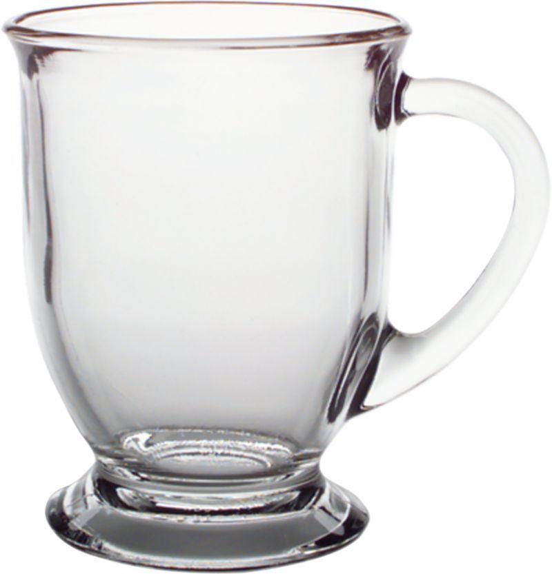 Cafe Mug Crate And Barrel Clear Coffee Mugs Mugs Clear Glass