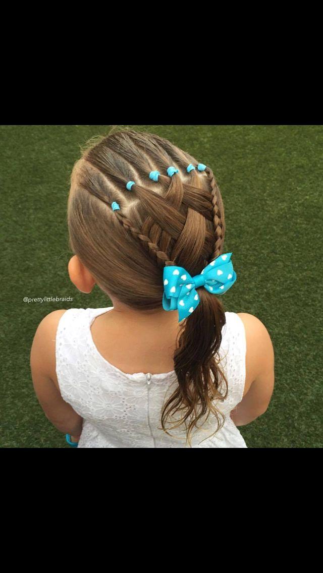 Hermoso y fácil de hacer peinados niña Pinterest Hermosa - peinados de nia faciles de hacer