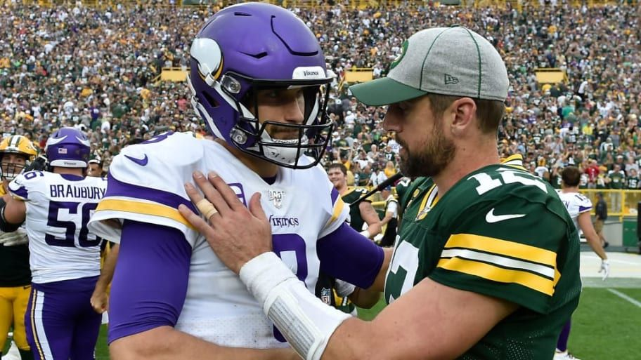 Kirk Cousins Aaron Rodgers Nfl News National Football League Football League