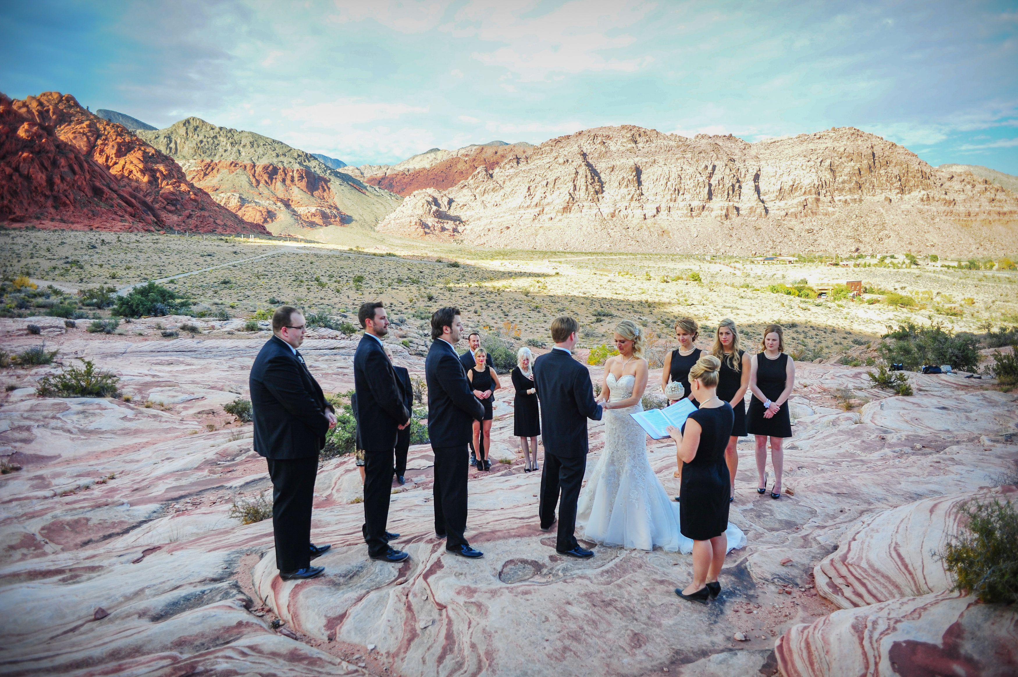 Red Rock Canyon Wedding Las Vegas Nv Vegaswedding Vegaselopement