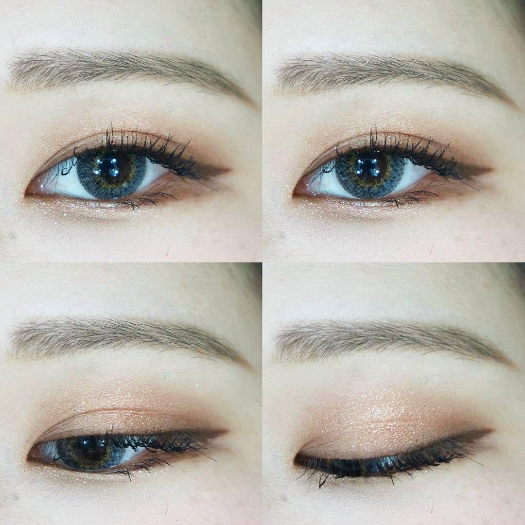 Korea Eyes Make Up Ulzzang Dyeo E Eyemakeupbold Korean Eye