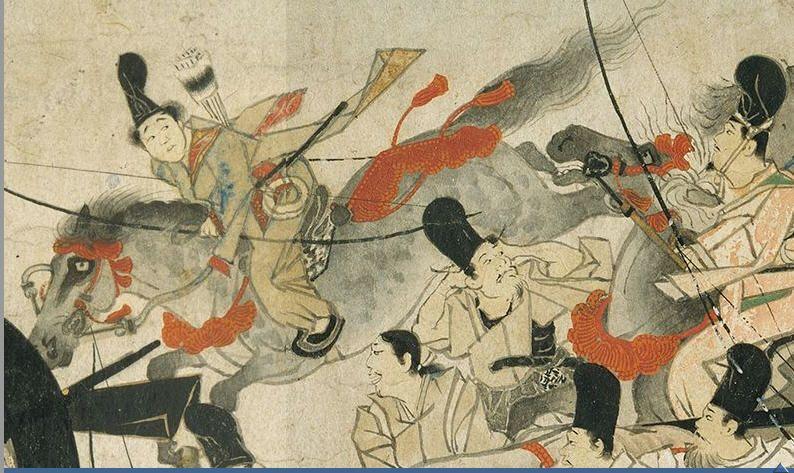 Night Attack On The Sanjo Palace Artist