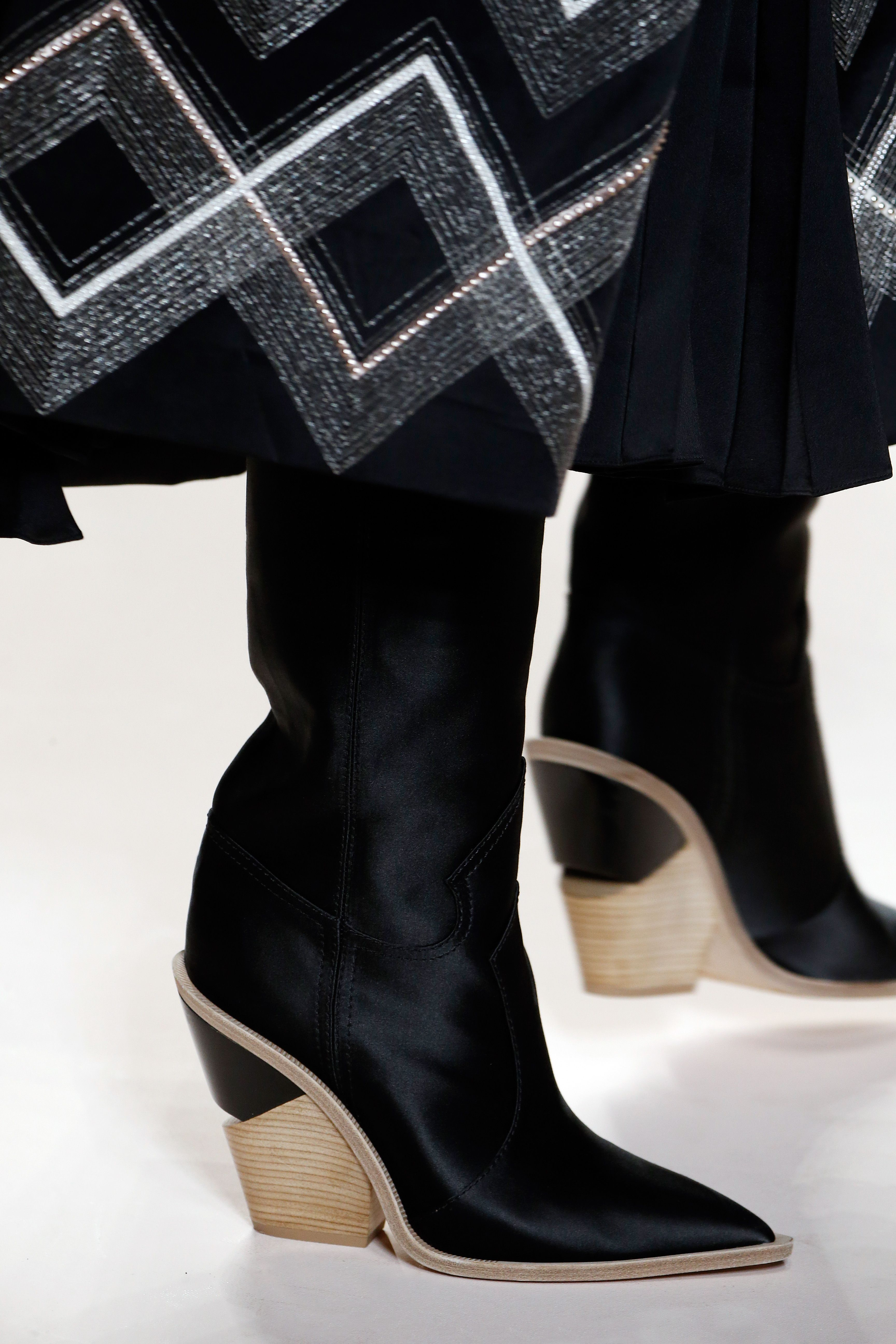 bb92b7437 Fendi Fall/Winter 2018-19 Fashion Show | Fendi | Shoes, Boots ...