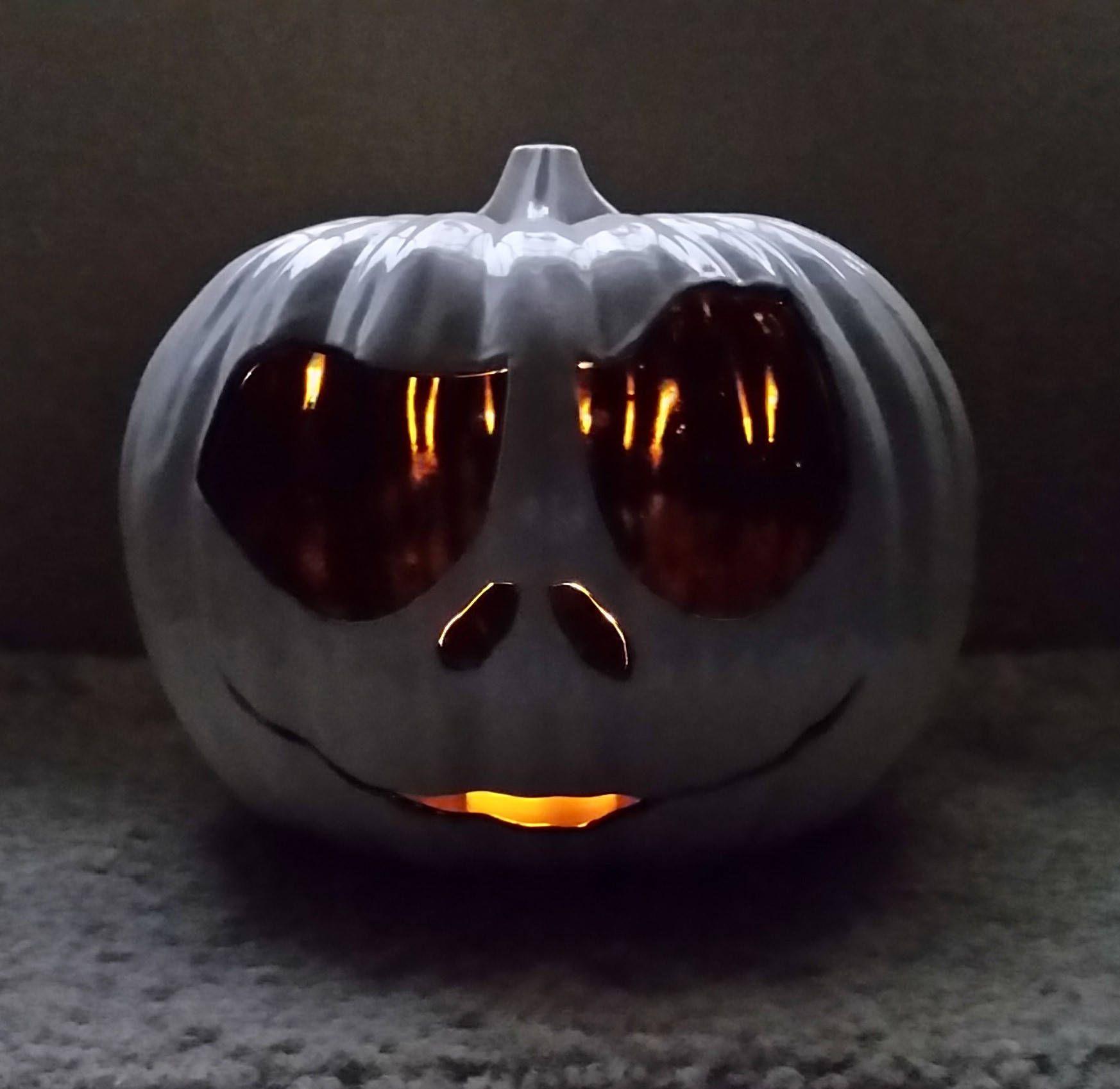 Jack Skelington Pumpkin in 2019 Jack skellington pumpkin