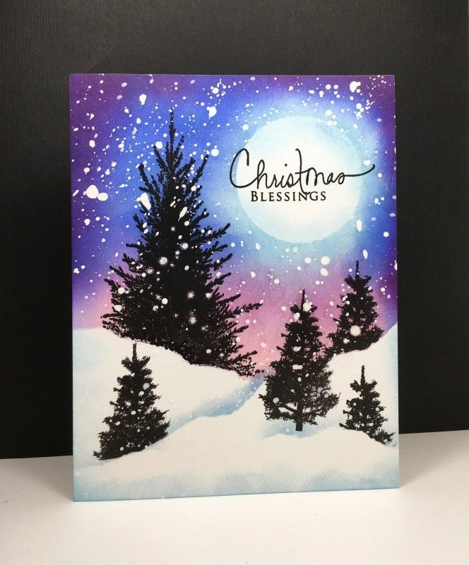 Paper Craft Christmas Card Ideas Part - 29: Blessings By Beesmom - Cards And Paper Crafts At Splitcoaststampers