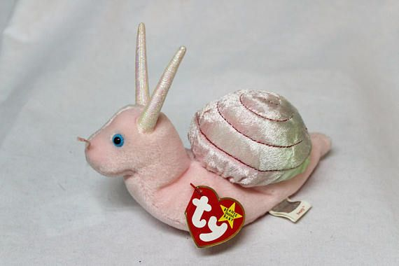 Ty Beanie Baby Swirly the Snail  38c37cbe52b