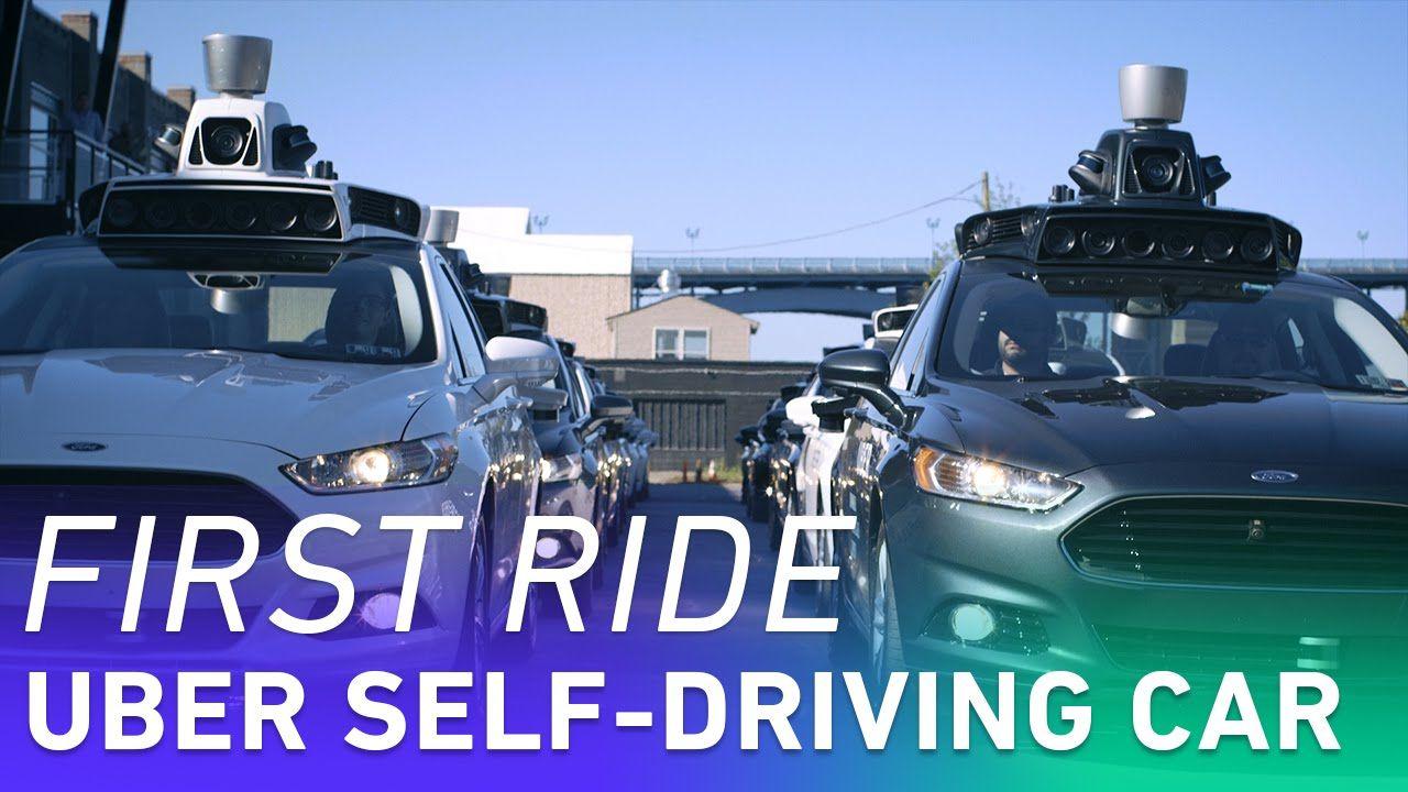 Behind the wheel of ubers first selfdriving car self
