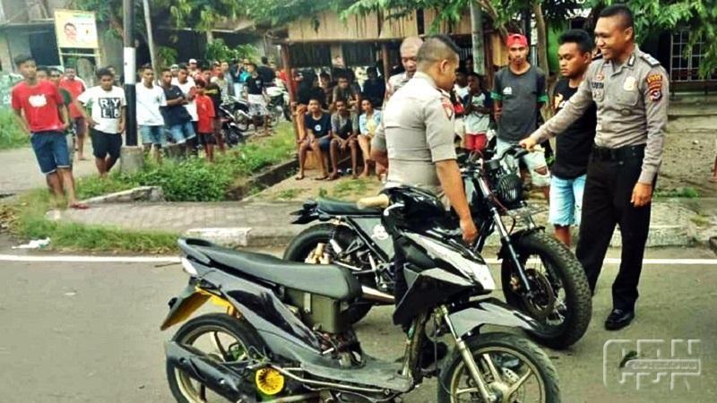 Polres Sikka Gencar Razia Balap Liar Dan Motor Berknalpot Racing