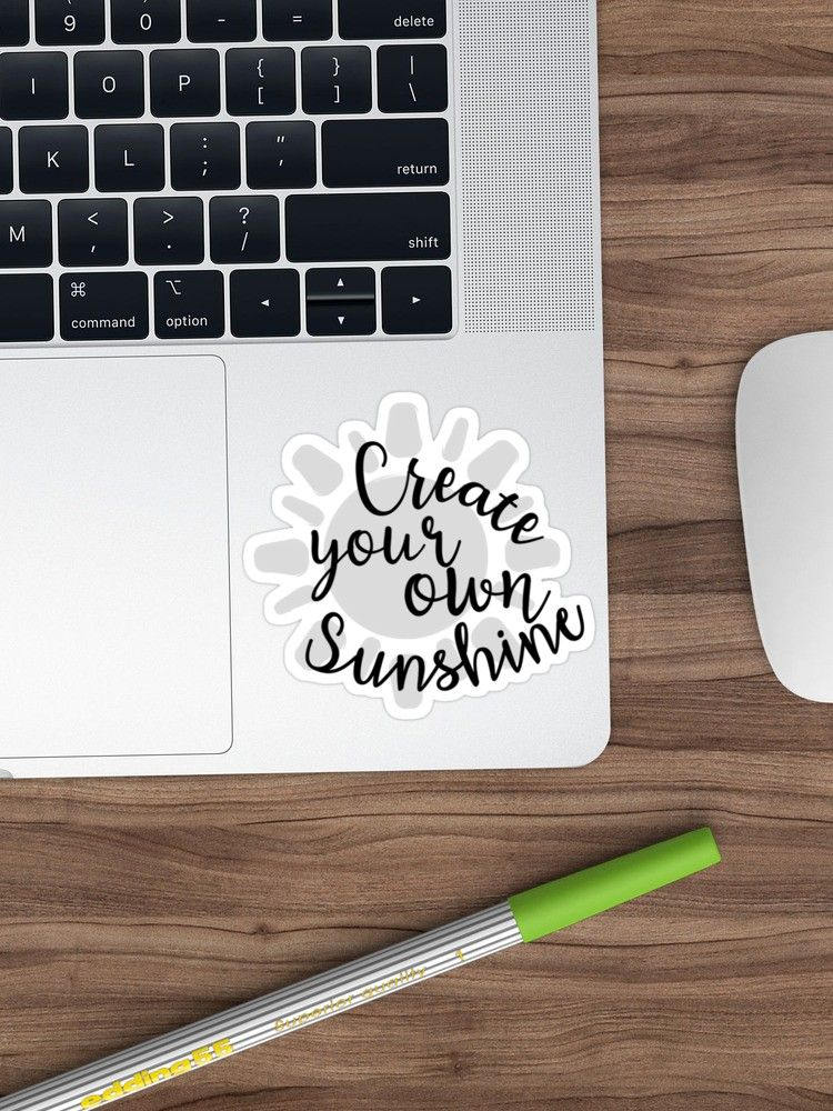 6696024f5 Create your own Sunshine sticker. Redbubble Stickers. Sticker for laptop.  Cute cool tumblr aesthetic Sticker. Nice design.